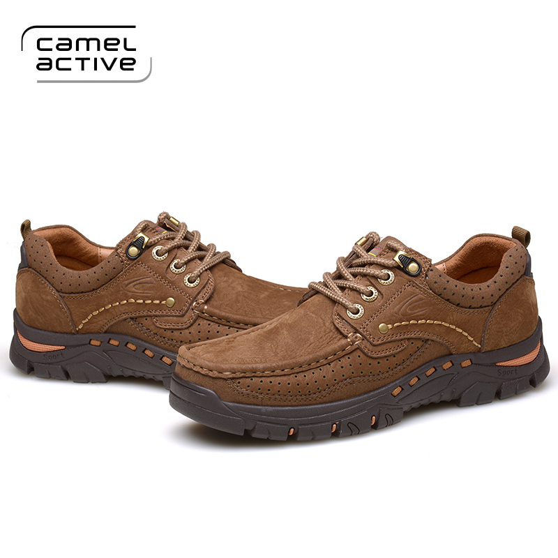Camel Active New Hiking Shoes Men Sneakers Outdoor Trekking Comfortable Sports Shoes Men Anti-skid Shoes Hiking Camping Sneakers