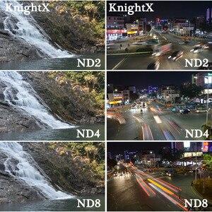 Image 3 - KnightX 37MM 52MM 58MM 37 GoPro אביזרי ND FLD אדום עדשת צבע מסנן עבור Sony Canon ניקון עבור GoPro Hero 4/3 +/3 52 58 mm