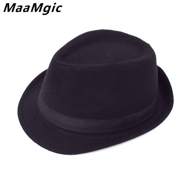 b8cbfb608b9 Original Unisex Structured Wool Fedora Hat Fedora hats for men Jazz fedora  felt hat head England Style Christmas Trilby Gift