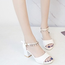2018NEW Summer Women Sandals Open Toe Flip Flops Women's Sandles Thick Heel Women Shoes Korean Style Gladiator Shoes