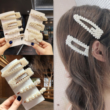 2019 New Womens Hairpin White Cute Fashion Pearl Headdress Korean Style Suitable For Wedding Party Jewelry Gifts Wholesale