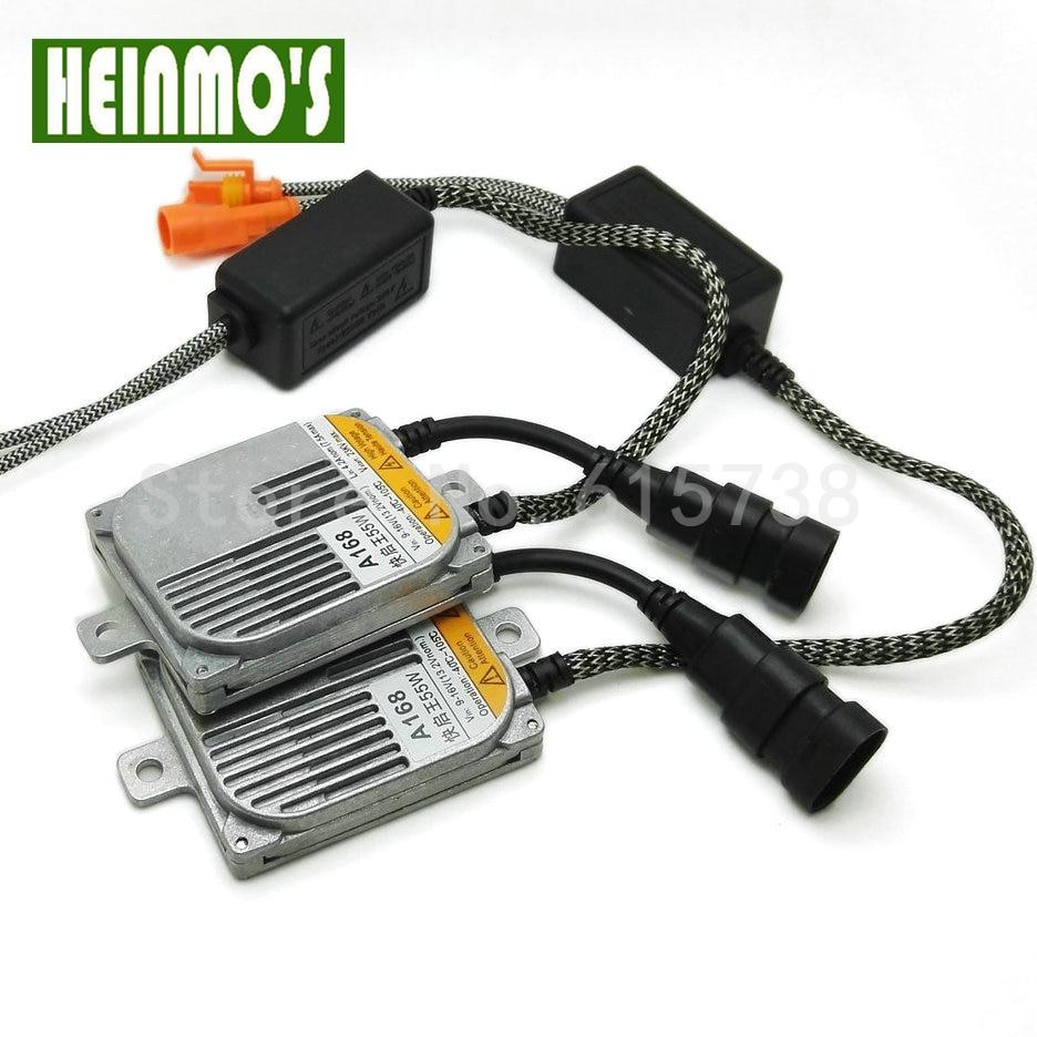 55W Car Xenon Ballast HID Replacement Digital AC Ballast All Light Bulbs Fit Car Light Source for H7 H8 H9 HB4 H1 H3 replacement 55w car hid ballast dc 9 16v