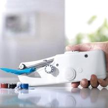 Máquina De Coser eléctrica Mini herramienta De costura manual máquina De Coser batería sin cable Coser accesorios De máquina De costura