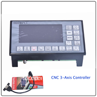 1 PC DDCSV1.1 500KHz CNC 3 Axis Engraving Machine Controller Motion Control System G Code Stepper Motor Driver