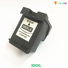 For HP 300 Black Ink cartridge for HP 300XL For Deskjet D1660 D2560 D2660 D5560 F2420 F2480 F2492 F4210 Printer high ink volume re manufactured ink cartridge for hp 300xl 15 17ml cc644ee 300xl tri colour inkjet cartridge for deskjet d2660