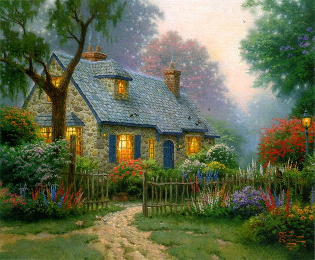House painting art images galleries for Oil paintings for the home