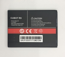 Original CUBOT R9 Battery 2600mAh Replacement backup Bateria For CUBOT R9 Cell Phone цены