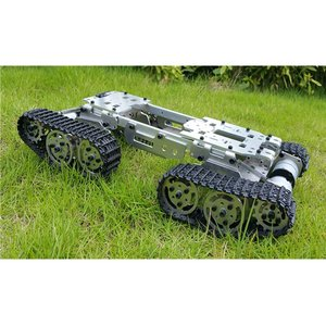 Alloy Metal Tank Chassis Tract