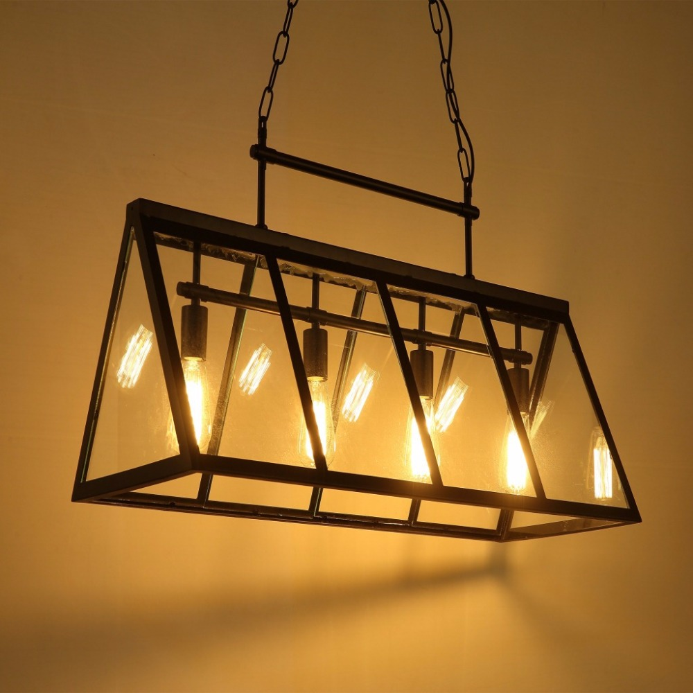 NEW Vintage Industrial Pendant Light Loft Style Lights Creative Nordic Retro Lamp Spider Edison Dining Living