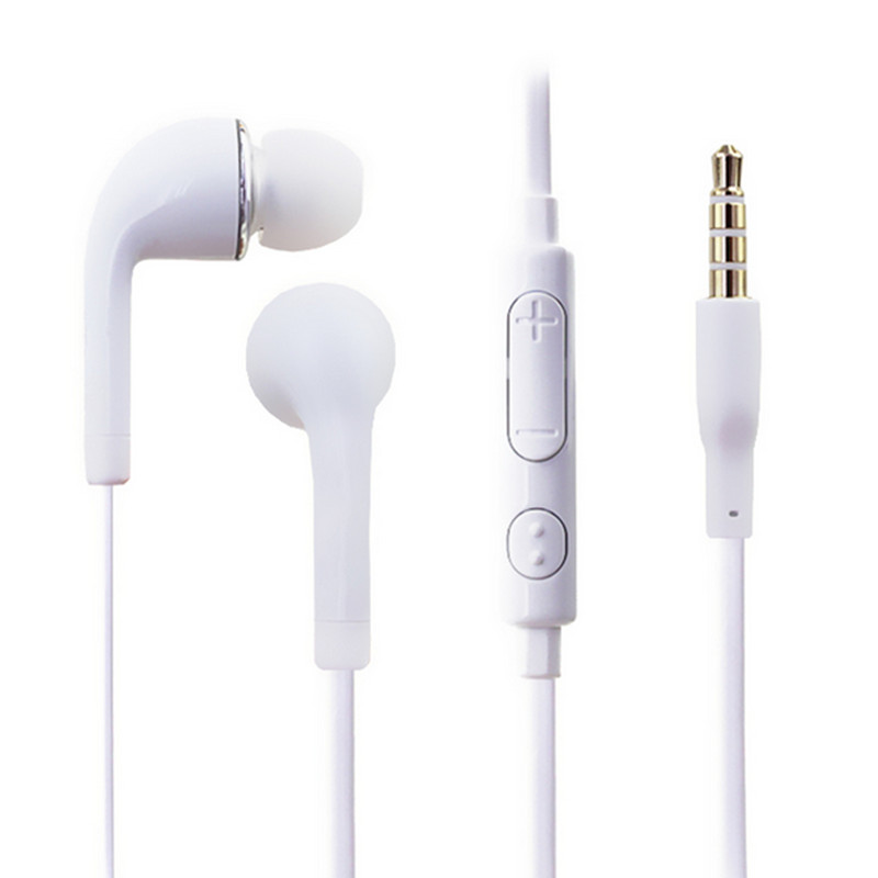 Headphones Stereo Headset Headphone Brand new 3.5mm Earphone With Volume&Mic for Samsung Galaxy S2 S3 S4 S5 Note 2 3 4 xedain kz headset storage box suitable for original headphones as gift to the customer