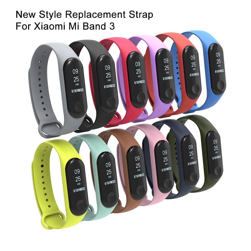 Ollivan Silicone Strap For Mi Band3 Watchband For Xiaomi Mi Band 3 Accessories Xaomi Band 3 Correa Mi Band 3 Bracelet Strap