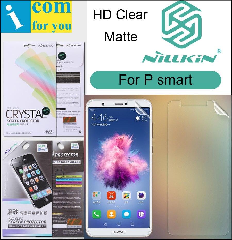 Nillkin Mat HD Écran Clair De Protection Film Pour Huawei P smart Souple Transparent Cristal Profiter 7 S