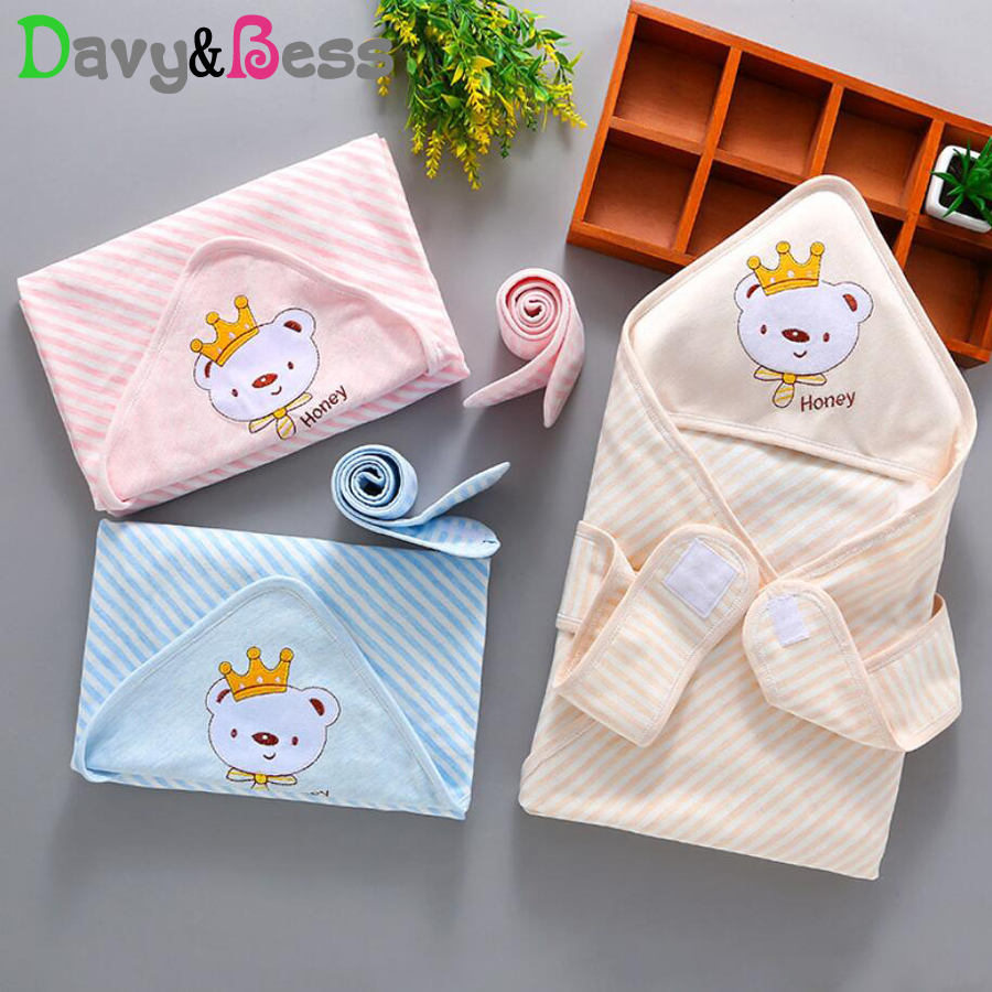 Diplomatic Cotton Baby Blanket Newborn Muslin Swaddle Wrap Blanket For Newborn Baby Swaddle Muslin Blanket Square Baby Wrap Bath With Hat