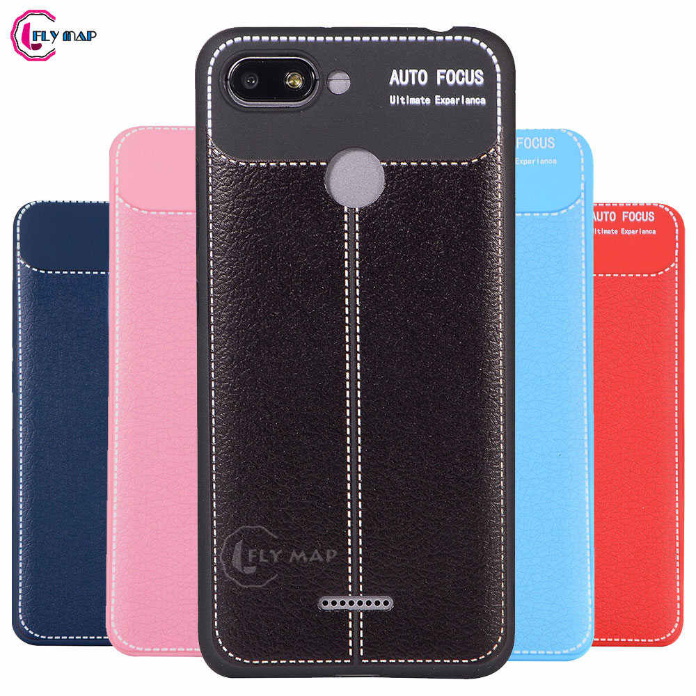 b5f3263f31 Soft Case for Xiaomi Redmi 6A A6 Silicone TPU leather Protective Mobile  Phone Cover Capa Coque for Xiao mi Red Redmi6 A 6 Shell