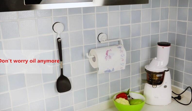Uchwyt ścienny KitchenTowel Wieszak na papier toaletowy Uchwyt na - Artykuły gospodarstwa domowego - Zdjęcie 5