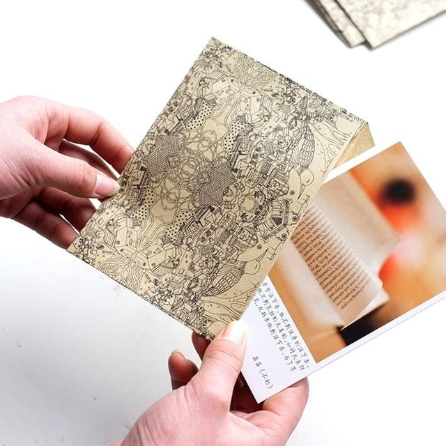 10 Pcs Sac Recycl Papier Lettre Vintage Rtro Kraft Enveloppe De Cartes Visite
