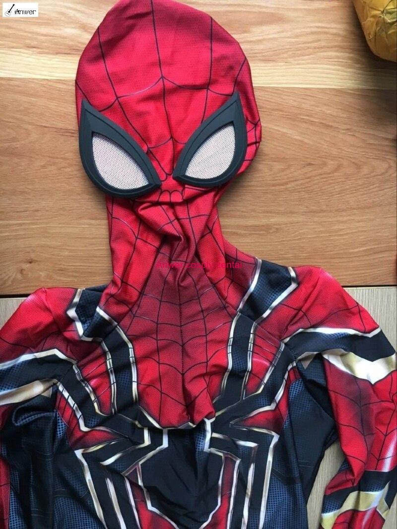 Новый Утюг-паук выпускников Человек-паук костюм Железный Человек-паук костюм для взрослых/детей