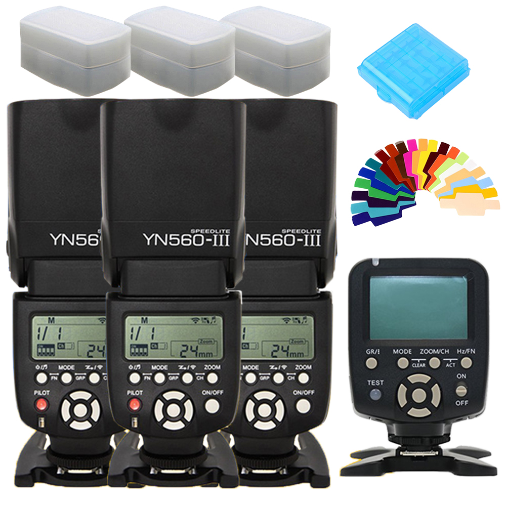 YONGNUO YN560III YN560 III YN560-III YN-560III X3+ YN560TX YN-560TX Wireless Speedlite Flash Controller For CANON NIKON Camera