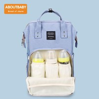 ABOUTBABY Fashion Mummy Maternity Bag ith Stroller Straps for Baby Care Multi function Diaper Bag Backpack Nappy Baby Bag w