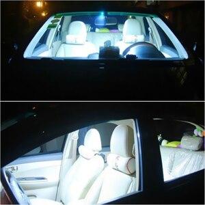 Image 4 - 2 sztuk samochodów lampa LED w kształcie kopuły 12  SMD CoB wnętrze auta samochodu mapa kopuła licencja płytka wymienna zestaw oświetleniowy biała lampa zestaw