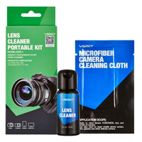 Professional VSGO Portable Camera Lens Cleaner Kit With Microfiber Cleaning Cloth And 15ml Lens Cleaner