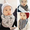 Hot Sales Infants Kids Bibs Cartoon Cotton Baby Towel Saliva Waterproof Lunch Bibs Dual Use