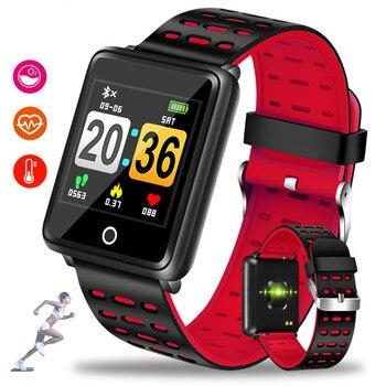 GEJIAN 2019 Smart Watch Men Women Heart Rate Monitor Blood Pressure Fitness Tracker Smartwatch Sport Watch for ios android +BOX lige horloge 2017