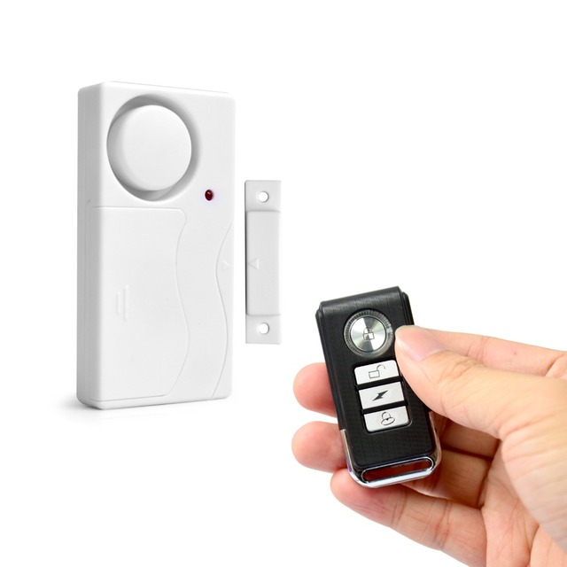 Door Window Entry Security Abs Wireless Remote Control
