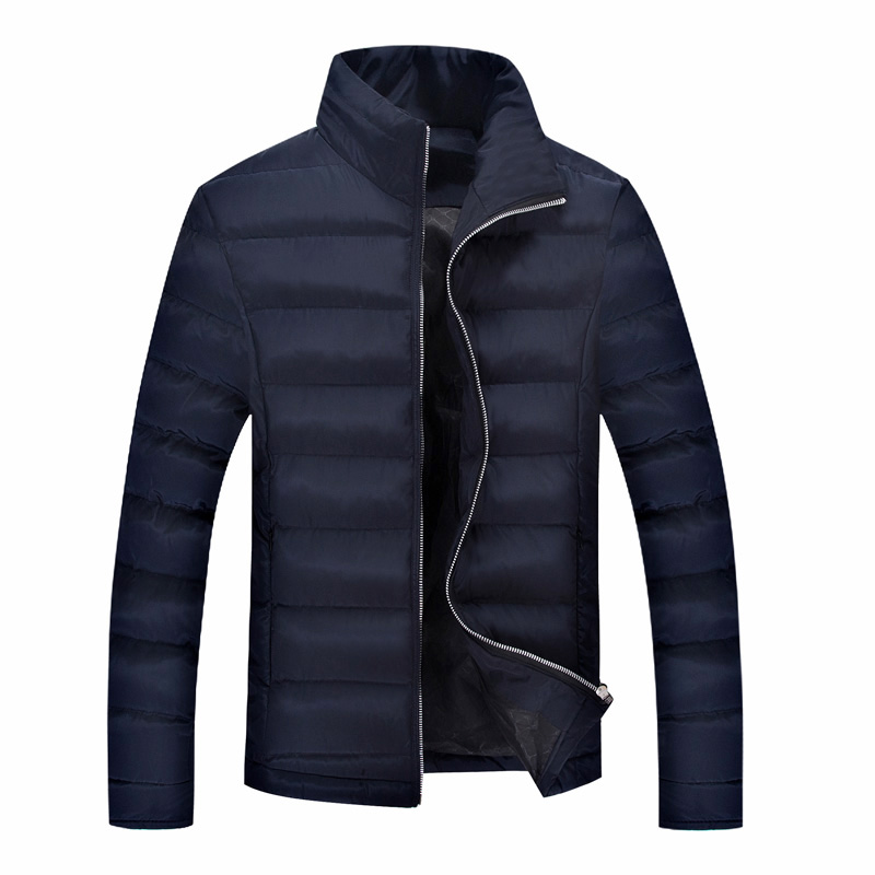 T china cheap wholesale 2016 autumn winter new men fashion casual wadded jacket coat slim stand collar cotton-padded jacket  free shipping 2016 autumn winter new korean version fashion city men slim casual zipper cotton padded jacket cheap wholesale