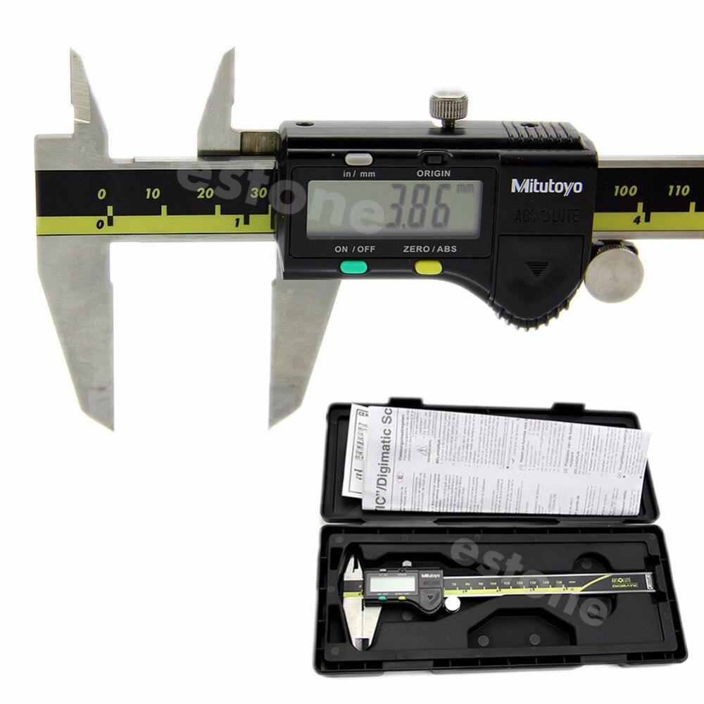 LCD Électronique Numérique Jauge Inoxydable Vernier Étrier 150mm 6 pouce Micromètre # D10560 #