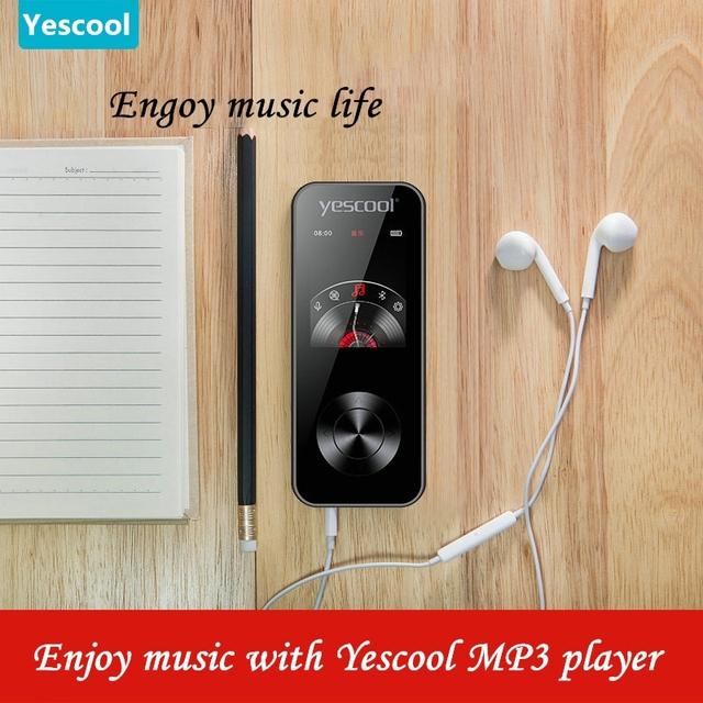 Yescool X2 1.8 Inch MP3 player Bluetooth lossless hifi music player speaker E-book FM radio voice recorder Mini sports walkman