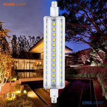 LED R7S 78mm Corn Lamp Led Tube Light 220V Tubo 5W 10W 12W 15W r7s 118mm Replace Halogen 2835 SMD Floodlight