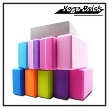16 Colors Pilates EVA Yoga Block Brick Sports Exercise Gym Foam Workout Stretching Aid Body Shaping Health Training for women S цена 2017