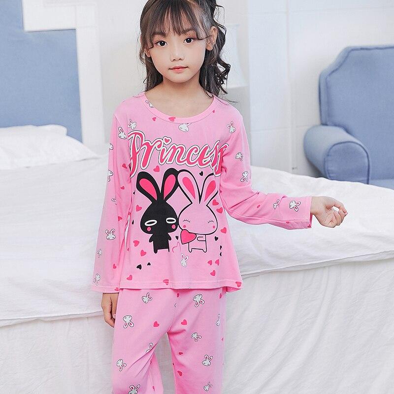 New Kids Boys Girls Pajamas Sets Princess Pyjamas Kids