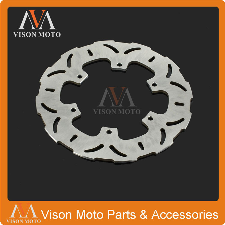 Rear Brake Disc Rotor For Yamaha XP500 2001 2002 2003 2004 2005 2006 2007 2008 2009 2010 XJR1300 1998-2012 XJR 1300 SP motorcycle part front rear brake disc rotor for yamaha yzf r6 2003 2004 2005 yzfr6 03 04 05 black color