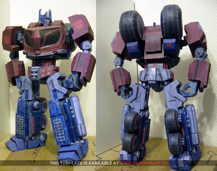 Robot (guerre Cybertron 3D papier modèle bricolage)