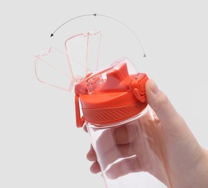Image 5 - Youpin тритана спортивная чашка 480 мл 620 мл, безопасный замок, нетоксичный и безвкусовый, устойчивость к падению, путешествия, спорт, бег, бутылка