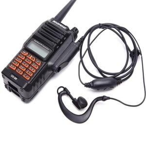 Image 2 - UV9R walkie talkie Baofeng 8W powerful dual band 2800mAh battery IP67 Waterproof CB Two Way Radio UV 9R+usb cable two way radio