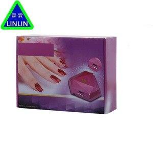Image 5 - LINLIN Iki el elmas manikür lambası, 60 W güneş ışığı fototerapi makinesi, tırnak makinesi soğuk ışık kaynağı zarar vermez eller.