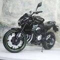 JOYCITY 1/12 Escala de Moto Toy Diecast Metal Motorcycle Toy Modelo Kawasaki Z800 2014 Preto Novo Na Caixa Para Presente/coleção/Crianças