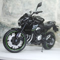 JOYCITY 1/12 Scale Motorbike Toy Kawasaki Z800 2014 Black Diecast Metal Motorcycle Model Toy New In Box For Gift/Collection/Kids