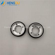5 peças F4.614.555 offset SM102 CD102 XL105 SM74 CD74 XL75 Máquina de Impressão Preto Roda de Fricção 38x19x10mm