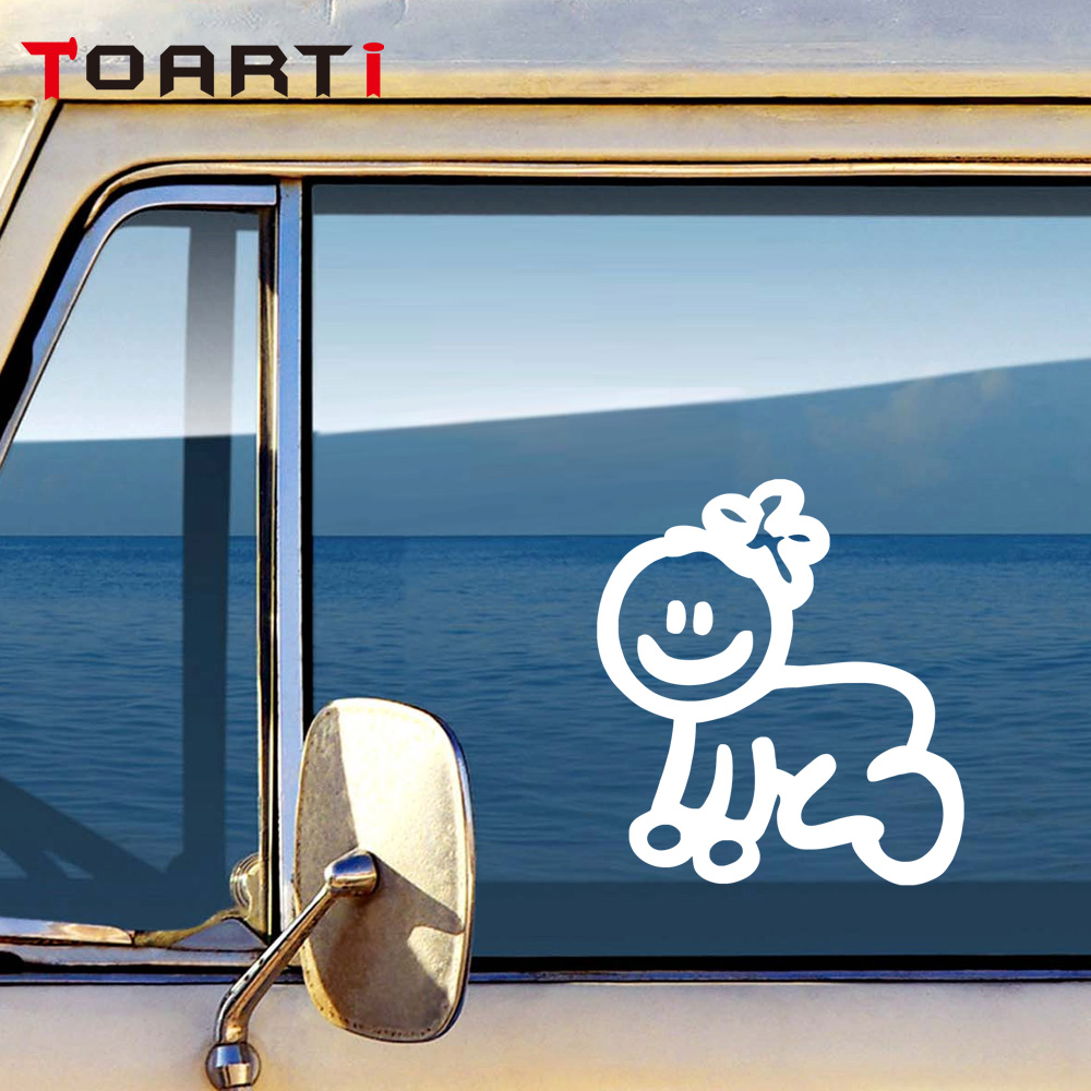 Custom family member viny decal car stick figure diy adhesive window car stickers waterproof auto sticker in car stickers from automobiles motorcycles on