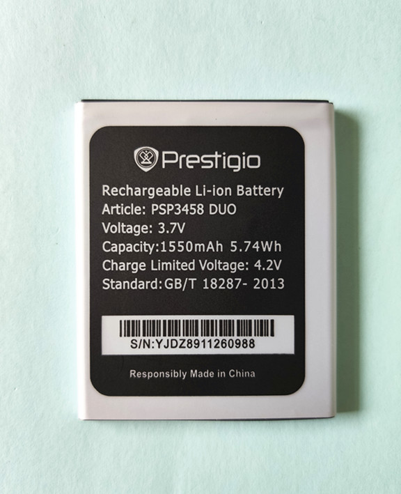 High quality New PSP3458 DUO Battery for <font><b>Prestigio</b></font> PSP3458 DUO PAP3458 PSP <font><b>3458</b></font> Replacement Cell phone Battery image