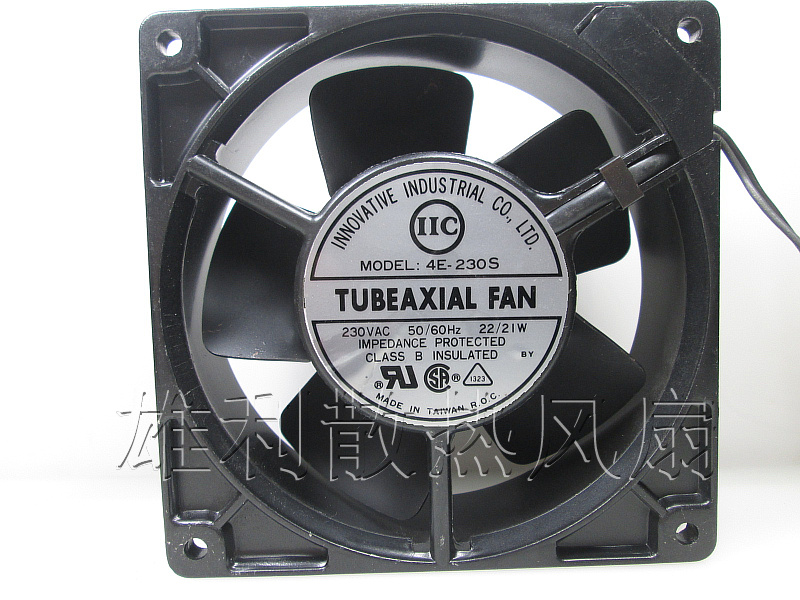 Free Delivery.4E-230S original authentic 230V 120 * 120 * 38MM high temperature fan free delivery original authentic 120 120 38mm 200v 14 12w cn60b3 fan