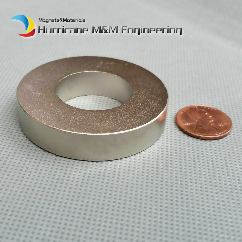 6pcs NdFeB Magnet Ring OD 50x25x10 (+/-0.1)mm thick Strong Neodymium Permanent Magnets Rare Earth Magnetic Tube Precision arrival 8pc 50 25 12 5mm craft model powerful strong rare earth ndfeb magnet neo neodymium n50 magnets 50 x 25 12 5 mm