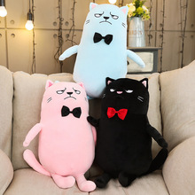 цена Cartoon Funny Cat Doll Plush Toys Stuffed Animal Cats Doll Toy Soft Plush Pillow Children Toys Girls Birthday Gift онлайн в 2017 году