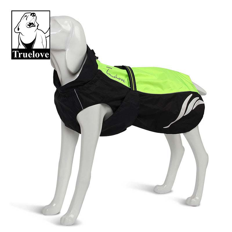 Truelove Reflective Large Dog Clothes French Bulldog Overcoat Pet Spring Autumn Winter Dog Jacket for Dogs Big Dog Clothes