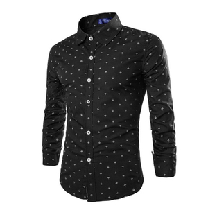 Image 4 - ZOGAA 2019 Formal casual slim fit  mens shirts Longsleeved Cotton Shirts Multi color Business Casual Korean Version Office Wear