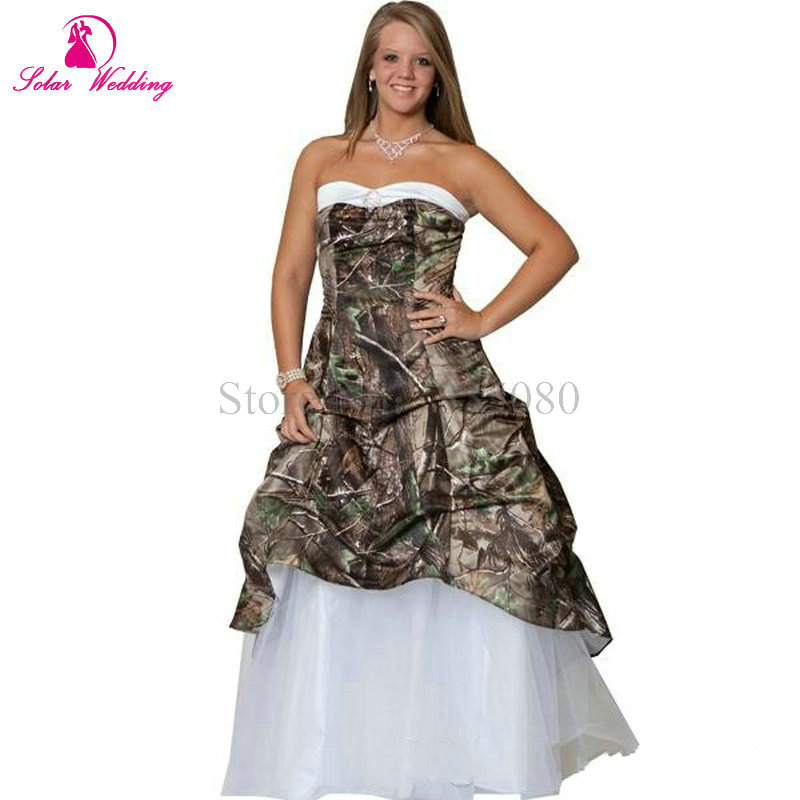 Popular Camo Bridal Gowns-Buy Cheap Camo Bridal Gowns lots from ...